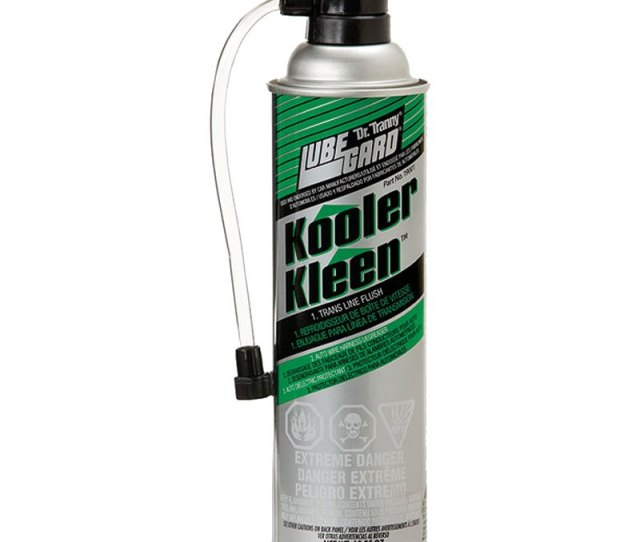 Lubegard Dr Tranny Kooler Kleen Flush Cleaner