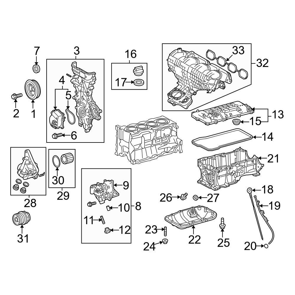 26 Toyota Prius Parts Diagram