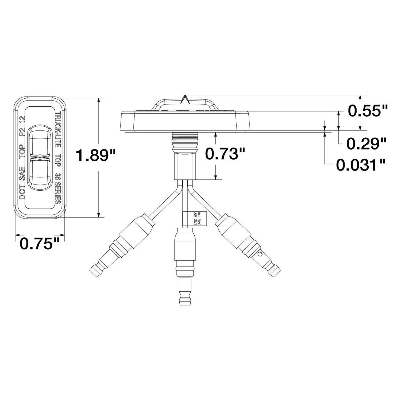Truck Lite Wiring Diagram: Truck lite snow plow lights