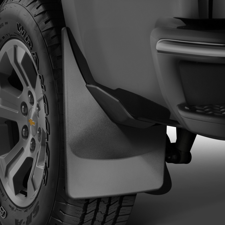WeatherTech Ford F 350 2017 DigitalFit Black Mud Flaps