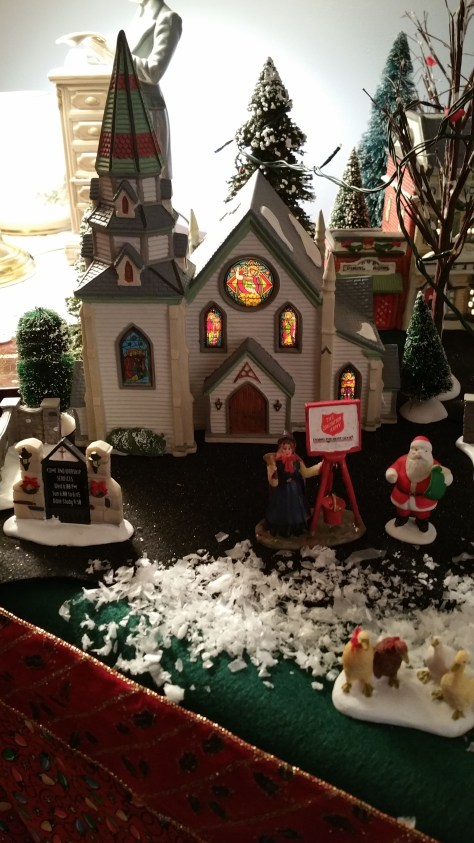 Caridad's Christmas VIllage