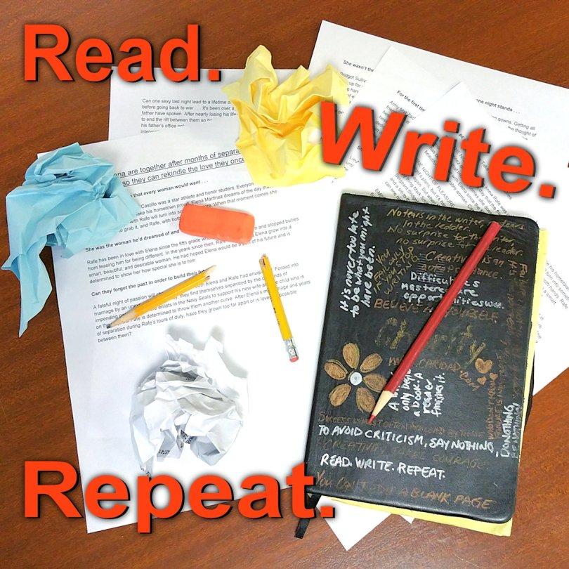 Read Write Repeat Writer's Block
