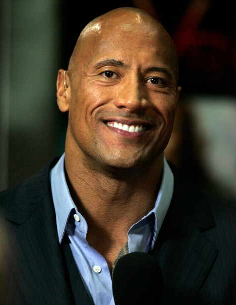Dwayne Johnson aka The Rock