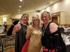 Flappers at the party