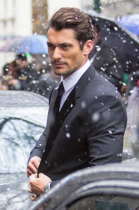 Photo of David Gandy by Adriano Cisani