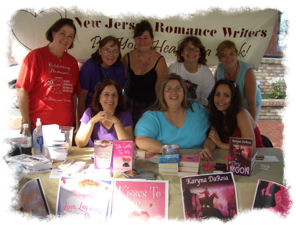 NJ Romance Writers at Red Bank Fair