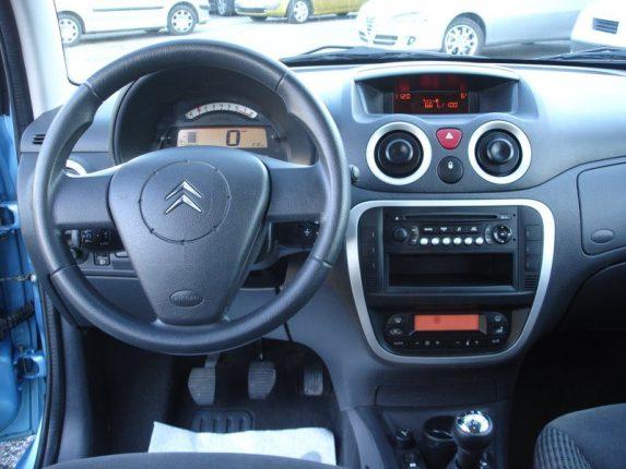 Intérieur de la Citroen C3 d'occasion de 2007 : présentation