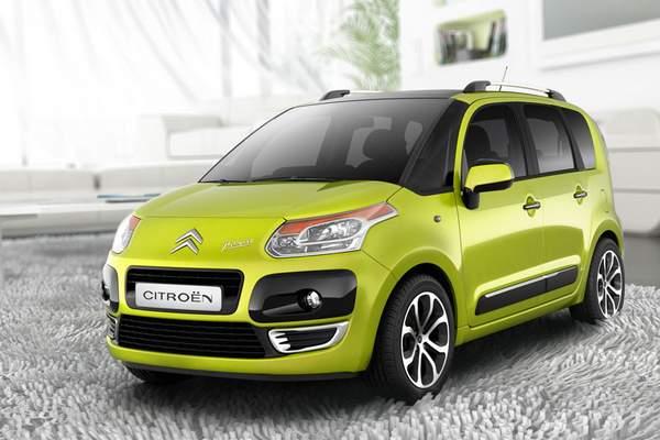 Lancement du Citroën C3 Picasso 2008