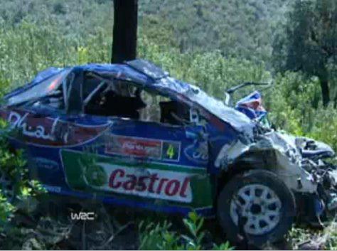 Latvala fait 17 Tonneaux en WRC au Rallye du Portugal
