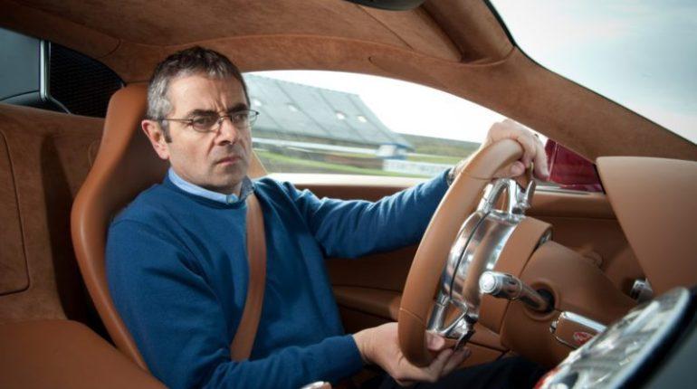 Mr Bean essaye la Bugatti Veyron