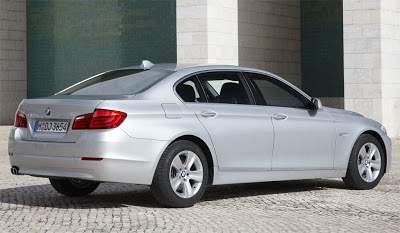 BMW série 5 Hybride 2010 mais mild