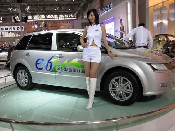 BYD E6 voiture électrique chinoise