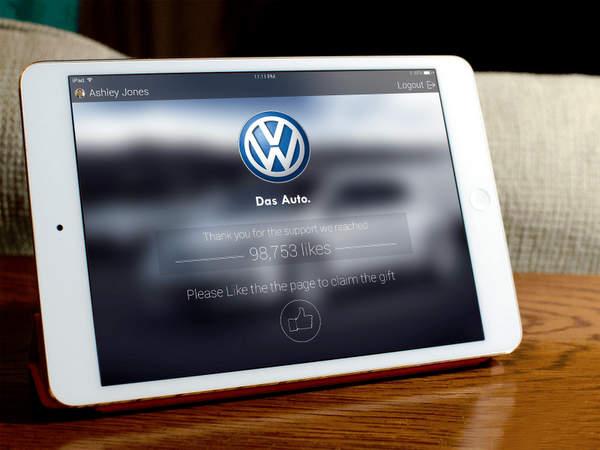 Volkswagen crée une application pour iPad