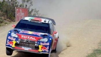 Préparation des Citroen DS3 WRC au rallye de Jordanie