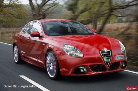 Alfa Giulia la remplaçante de l'actuelle 159