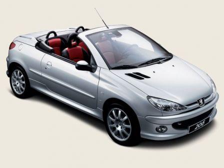 Cabriolet pas cher Peugeot 206 CC