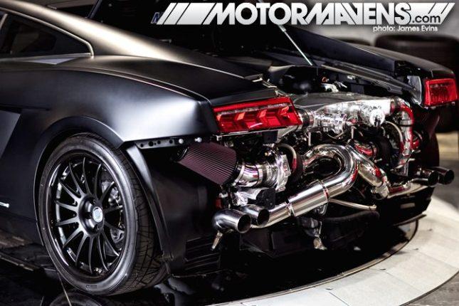 Video - Gisèle en mode multi orgasmes dans une Lamborghini Superleggera Underground Racing Stage 3 Twin Turbo