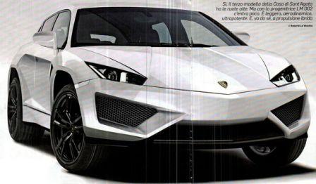 SUV Lamborghini pour bientôt ? Concept car