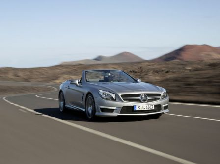 Nouvelle Mercedes SL63 AMG