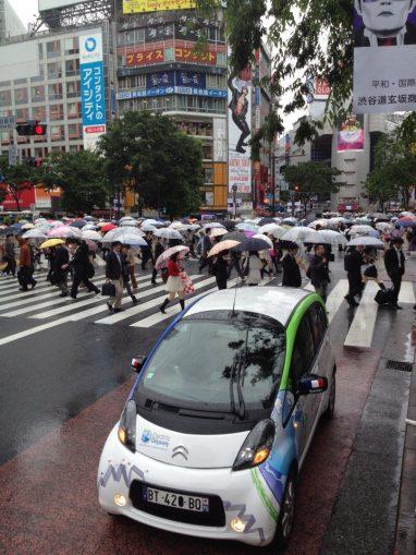 Electric Odyssey au Japon