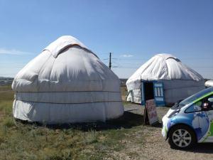 Electric Odyssey dans une yourte au cœur du Kazakhstan