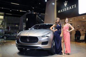 Maserati Kubang présenté au salon de Francfort