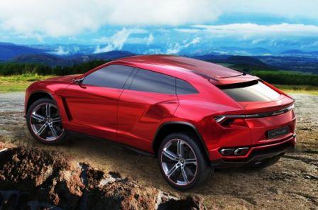 URUS le concept car de Lamborghini
