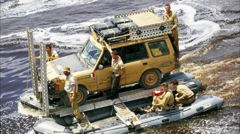 Land Rover au Camel Trophy