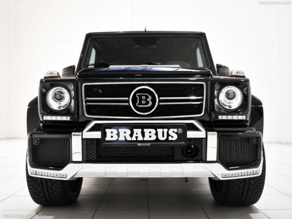 Brabus Mercedes Classe G B63 - 620 ch là cela devient interressant et monstrueux