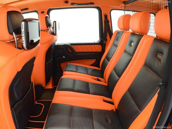 Brabus Mercedes Classe G B63 - 620 ch on pourrait s'attendre à plus de place non ?