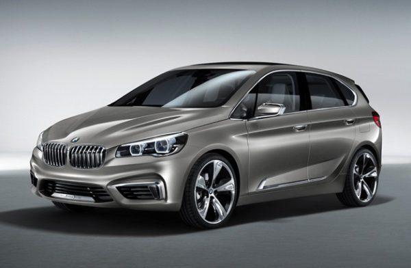 BMW Active Tourer premier monospace et traction avant pour BMW