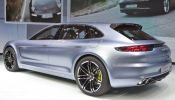 Porsche Panamera Shooting Break au salon de Paris 2012