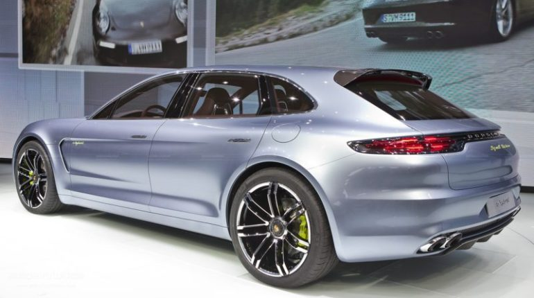 Porsche Panamera Shooting Break au salon de Paris 2012