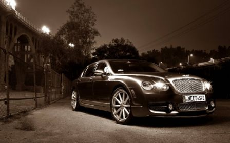 Bentley Continental Flying Spur modernisée