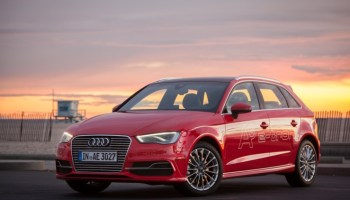Le concept car Audi A3 e-tron
