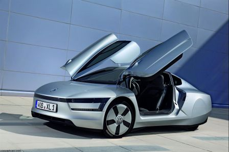 Volkswagen XL1 concept car hybride