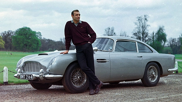 Voiture de collection Aston Martin DB5