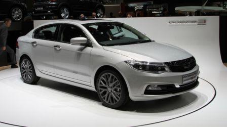 Nouvelle berline chinoise Qoros 3 très inspiré de la Renault Laguna