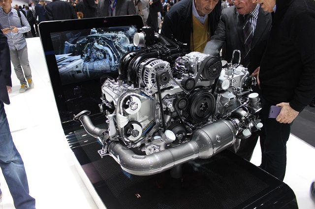 Moteur 4 Cylindres Boxer Porsche
