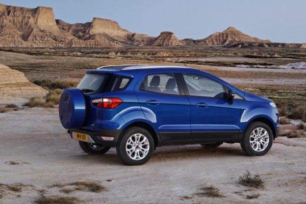 Ford Ecosport 2014 vue arrière