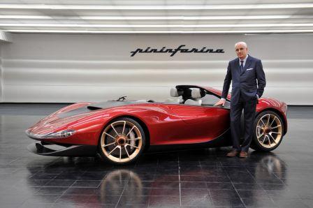 Concept-car Pininfarina Sergio