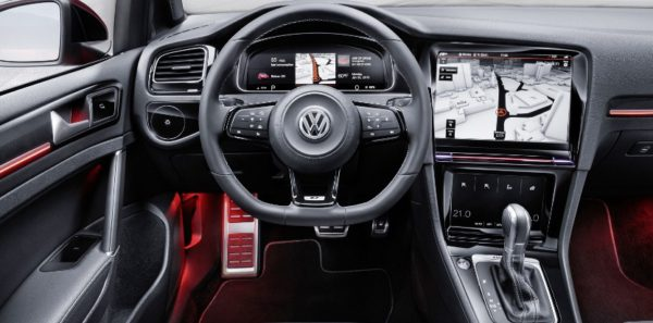 Volkswagen Golf R Touch Tactile