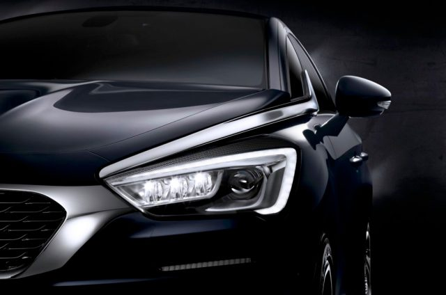 DS5 restylée 2015 phare LED