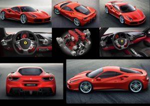 Ultra performante avec ses 670 ch la Ferrari 488 GTB est au-dessus de la 458.