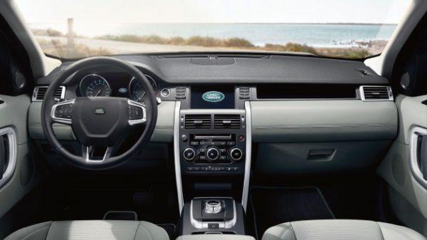 Land Rover Discovery Sport 2015 planche de bord