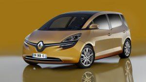 Illustration du Futur Renault Scenic 2016