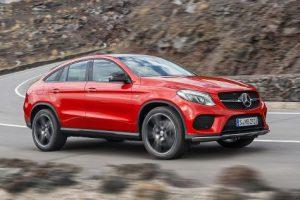 SUV Essai Mercedes GLE Coupé