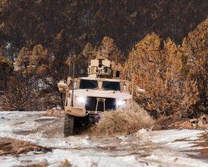 Le nouveau Véhicule militaire Oshkosh JLTV qui remplace le Hummer