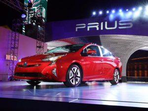 Nouvelle Toyota Prius 4 2016 au salon de Las Vegas