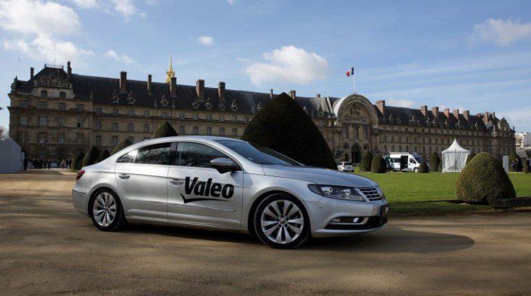 La voiture autonome de Valeo